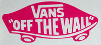 Vans Off The Wall Sticker-Sticker Blimp Decals
