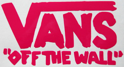 Vans Off The Wall Rough Sticker-Sticker Blimp Decals