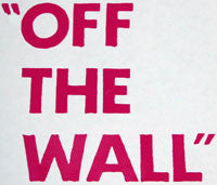 Vans Off The Wall Text Sticker-Sticker Blimp Decals