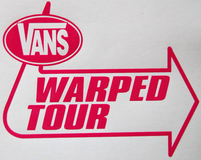 Vans Warped Tour Sticker-Sticker Blimp Decals