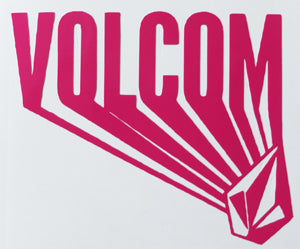 Volcom Rough Reach Sticker-Sticker Blimp Decals