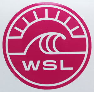World Surf League WSL Sticker-Sticker Blimp Decals