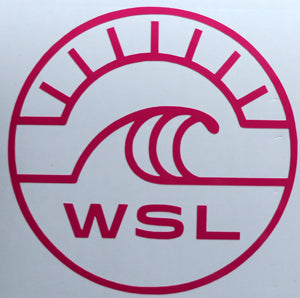 World Surf League WSL Inner Sticker-Sticker Blimp Decals