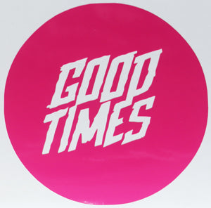 YT Industries Good Times Round Sticker-Sticker Blimp Decals