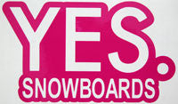 Yes Snowboards Sticker-Sticker Blimp Decals