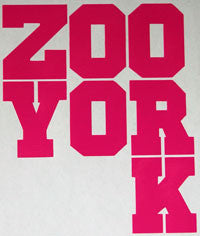 Zoo York Text Chunky Sticker-Sticker Blimp Decals