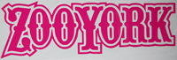 Zoo York Text Retro Sticker-Sticker Blimp Decals