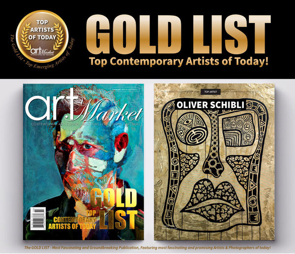 Art Market Magazine - Top Artists of Today GOLD LIST