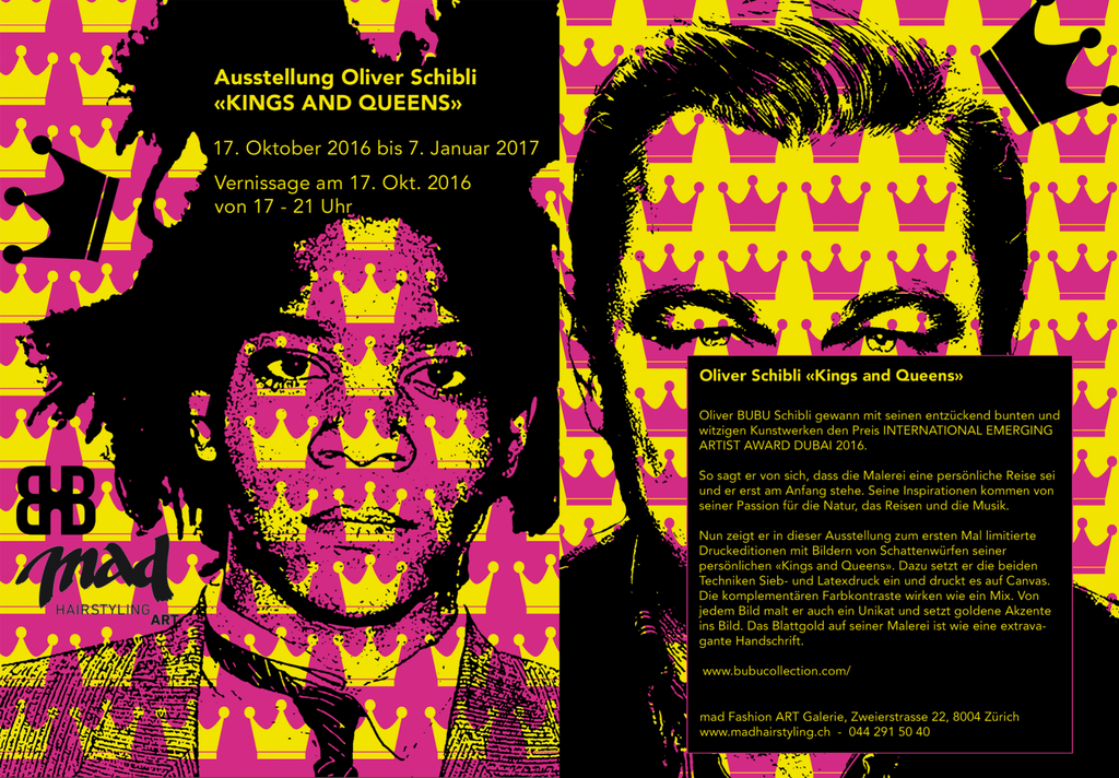 Kings & Queens - Pop Art Solo Exhibition