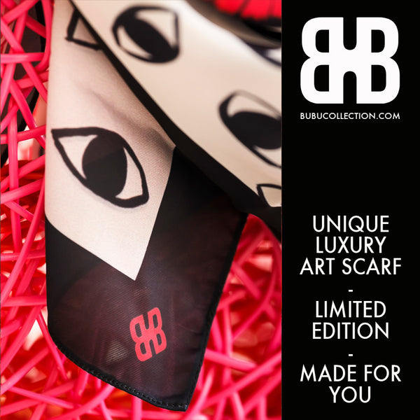 Mooson Edition '15 - Unique Luxury Art Scarf - Limited Edition
