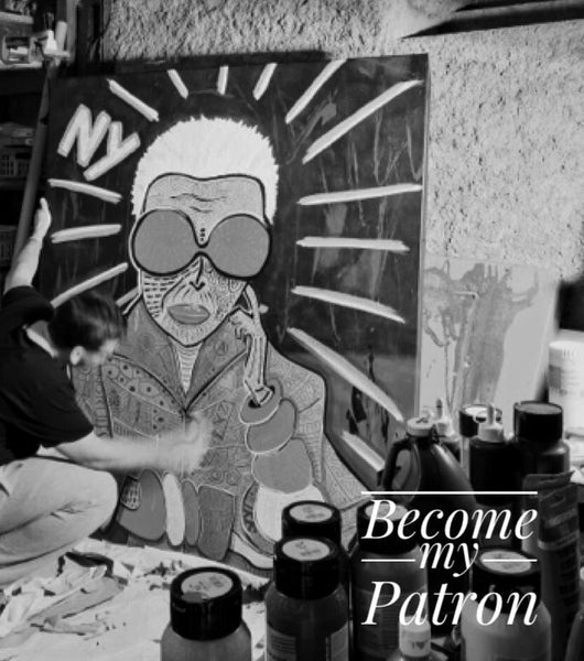 Become my Art Patron - Support Living Artist
