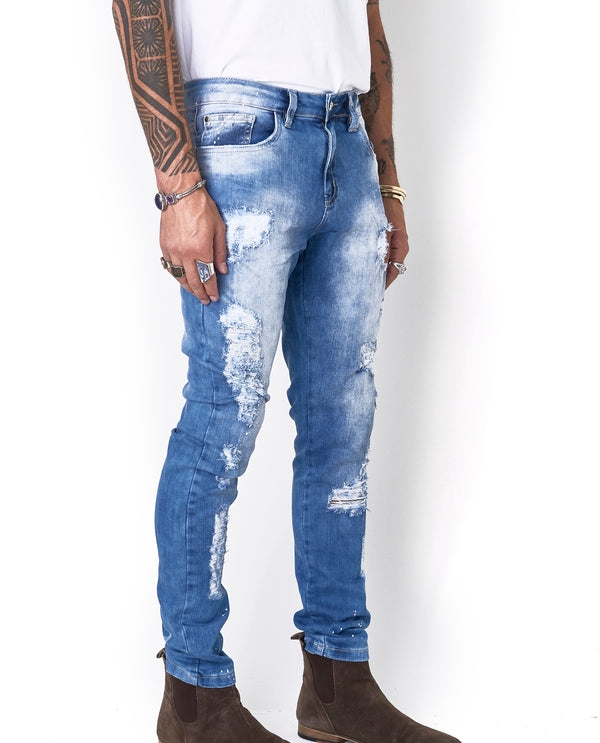 Calça Jeans Splash Edition