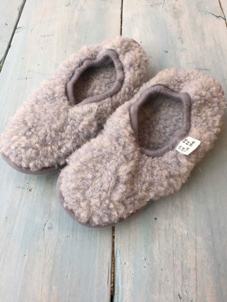 Light Grey Ballerina Slipper