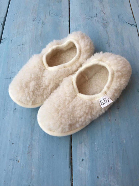 Cream Ballerina Slipper