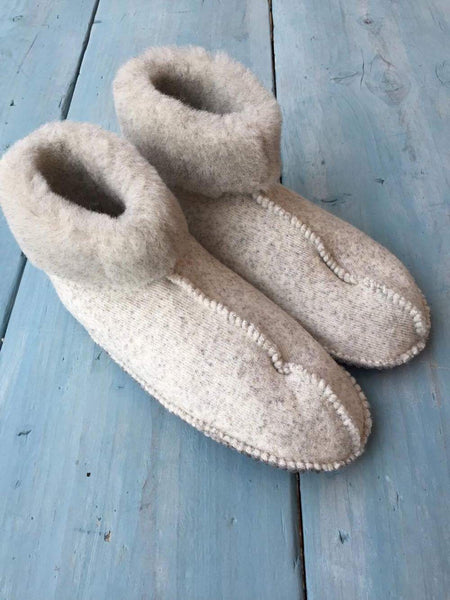 Grey Snug Slipper Boot