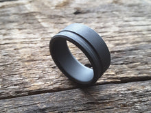 Orbit - Blackened Titanium Men's Ring