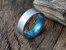 Duality (Aurora) - Men's Titanium Wedding Band