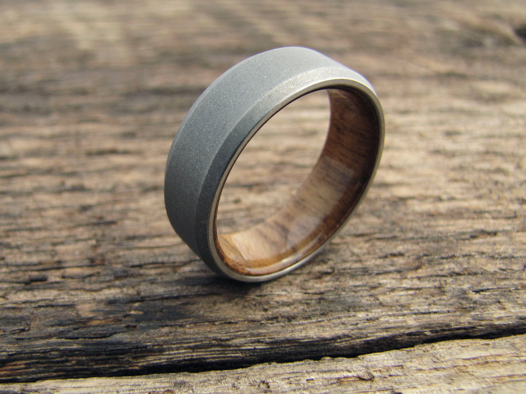 jewelry by titanium burl in wedding with rings set ring teak wood johan products