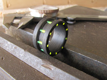 Catalyst - Carbon Fiber and Neon Green Ring