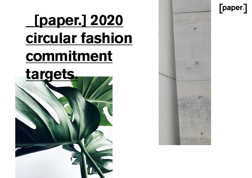 [paper.] becoming circular by 2020