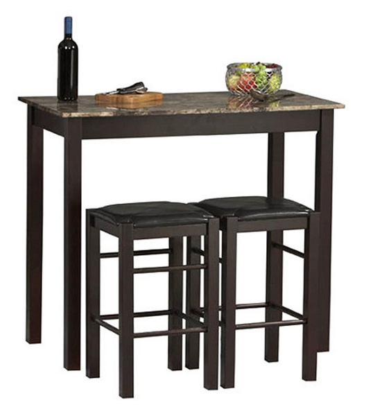 Vineyard Bar Height Pub Table Set - Christian's Table