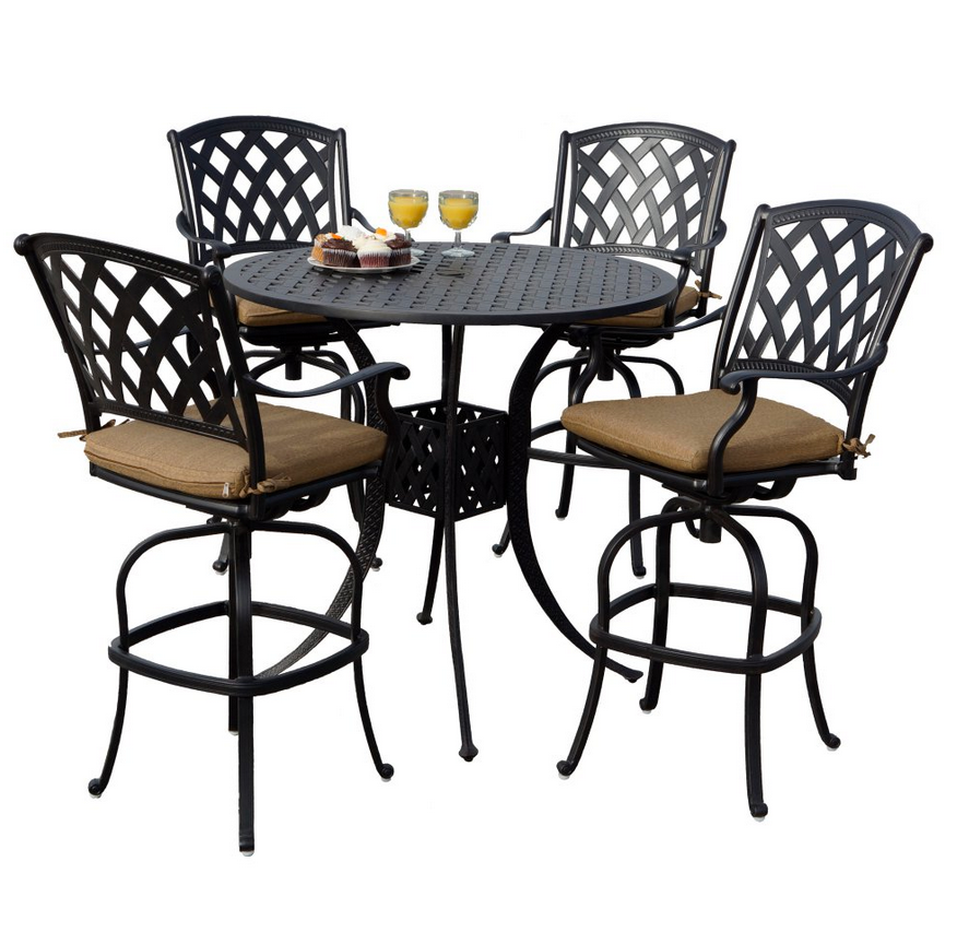 Bar Height Patio Dining Set - Christian's Table
