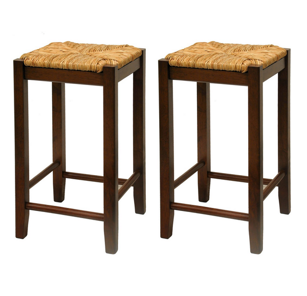 Wood 3 Piece Pub Table Set With Bar Stools - Christian's Table