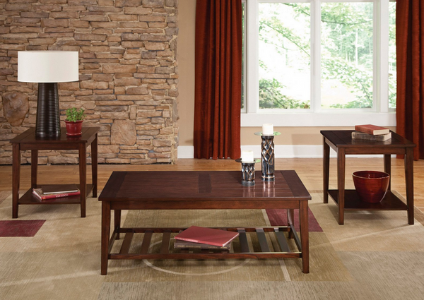 Coffee And End Table Set - 3 Piece - Christian's Table