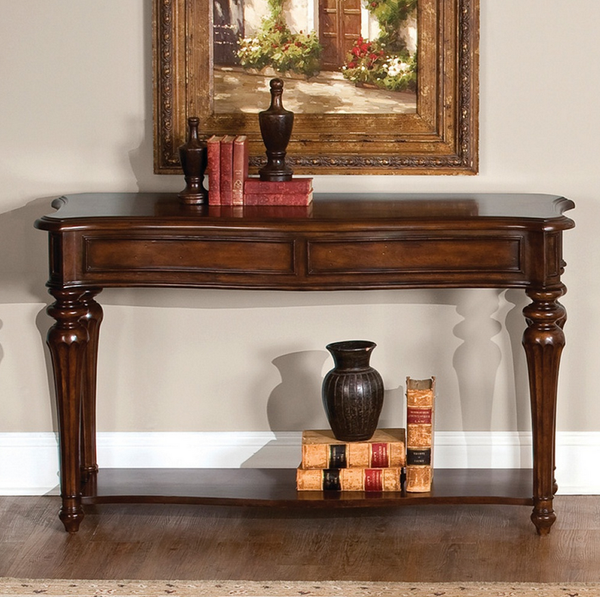 Vintage Cherry Console Sofa Table - Christian's Table
