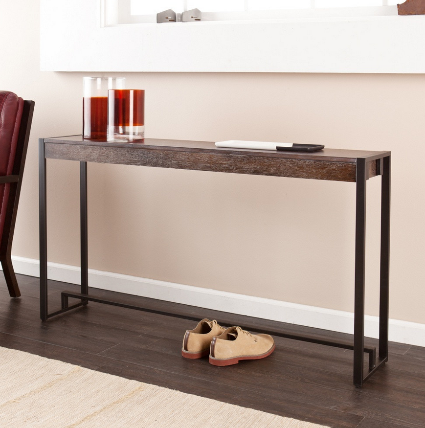 Burnt Oak Console Table - Christian's Table