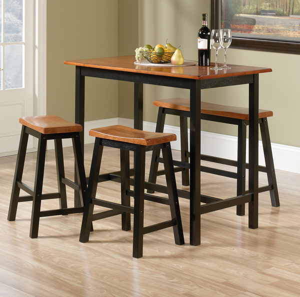 Tall Counter Height Table Dinette Set - 4 Piece - Christian's Table