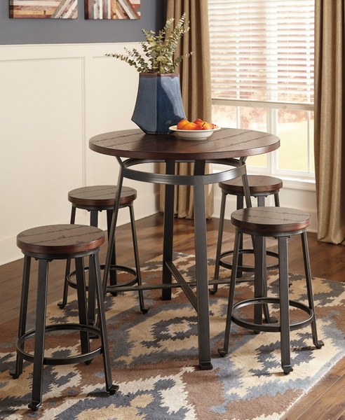 Counter Height Pub Table Set - Christian's Table