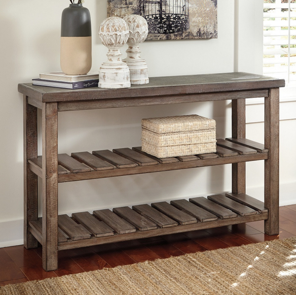 Distressed Sofa Console Table - Christian's Table
