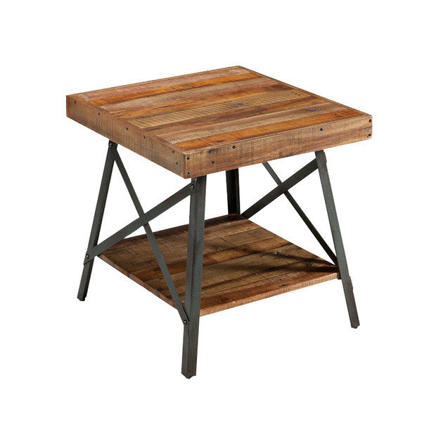 Reclaimed Wood End Table - Christian's Table