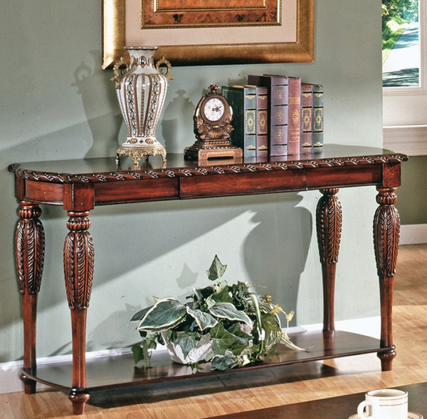 Foyer Console Table - Cherry - Christian's Table