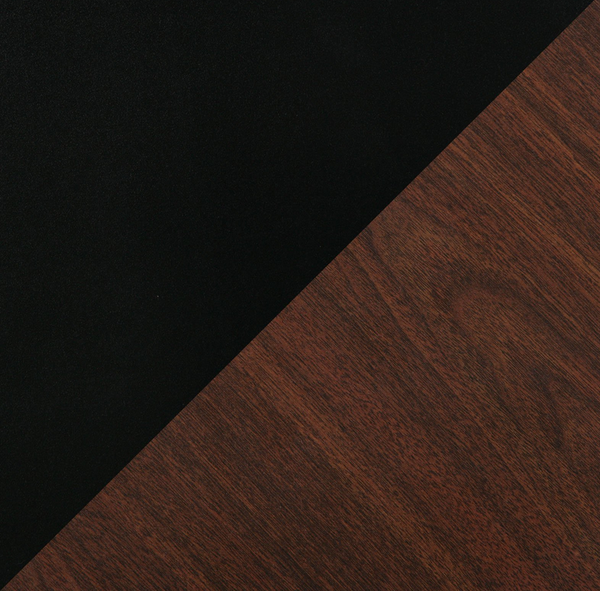 Mahogany/Black Tabletop