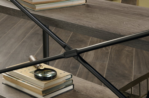 Northern Oak Console Table - Industrial Style - Christian's Table