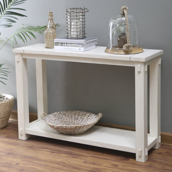 Mission Style Console Table   Christianu0027s Table