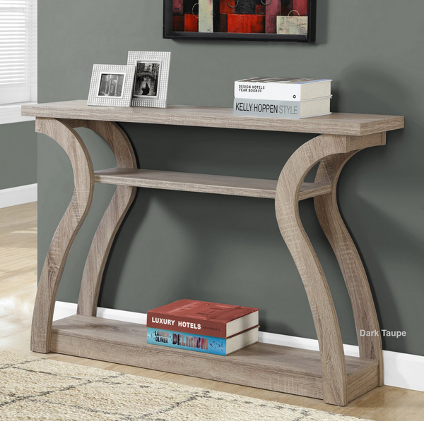 Curved Modern Console Table