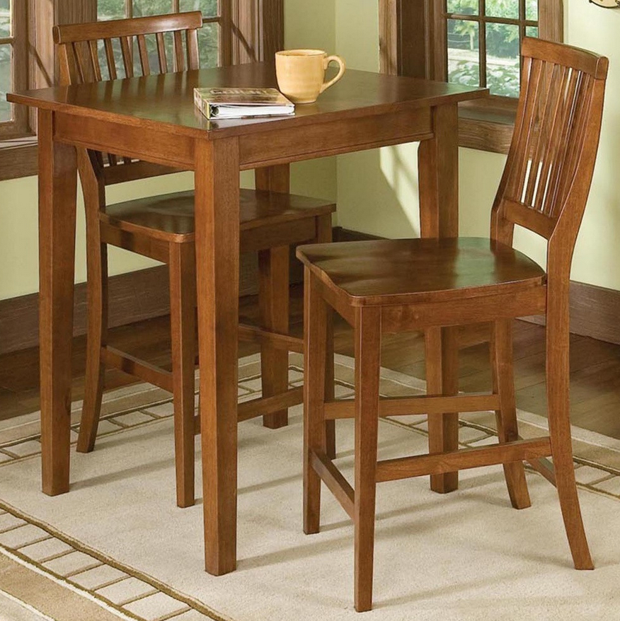 Cottage Oak Pub Table Set - Christian's Table