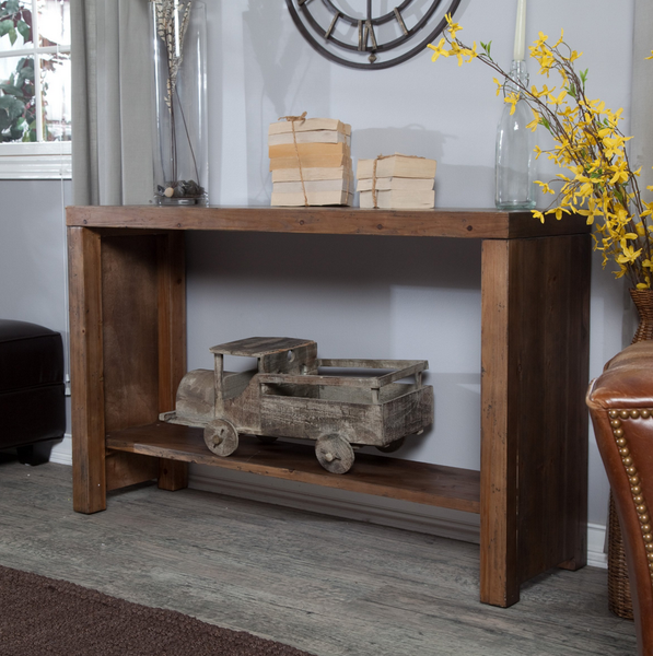 Rustic Style Console Table - Christian's Table