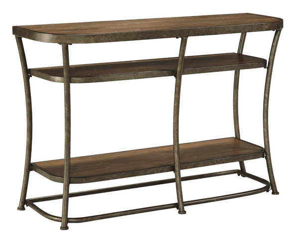 Bronze Rustic Console Table - Christian's Table