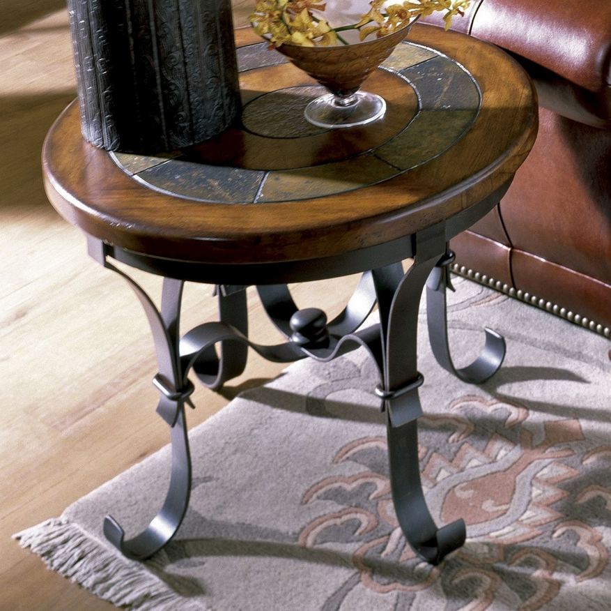 Tuscan Round End Table - Christian's Table