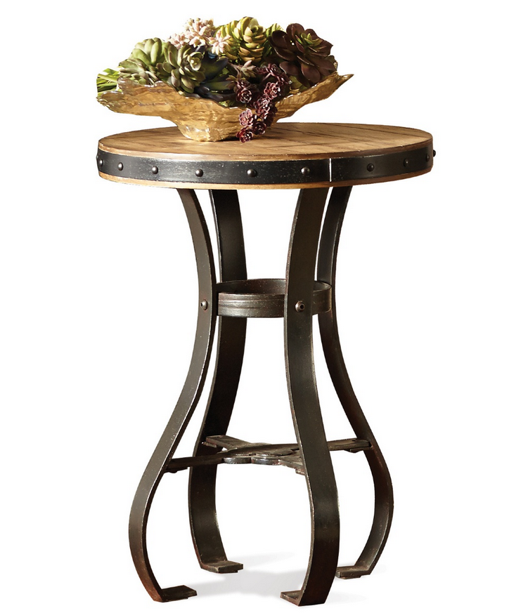 Accessory Small Round End Table - Christian's Table