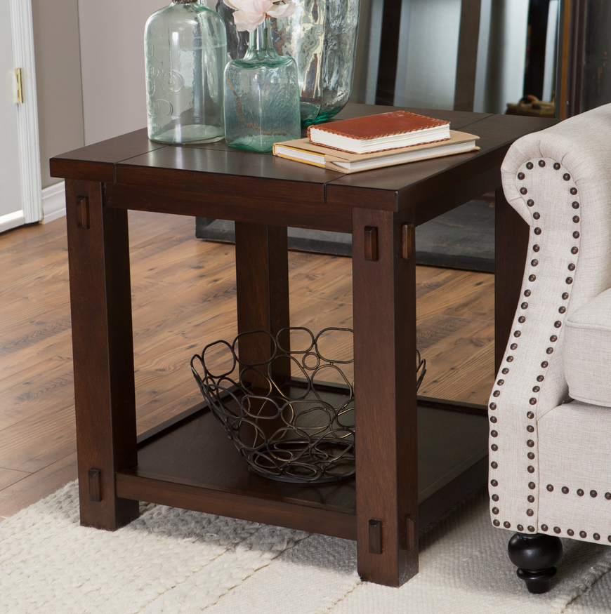 Rustic Square End Table - Christian's Table