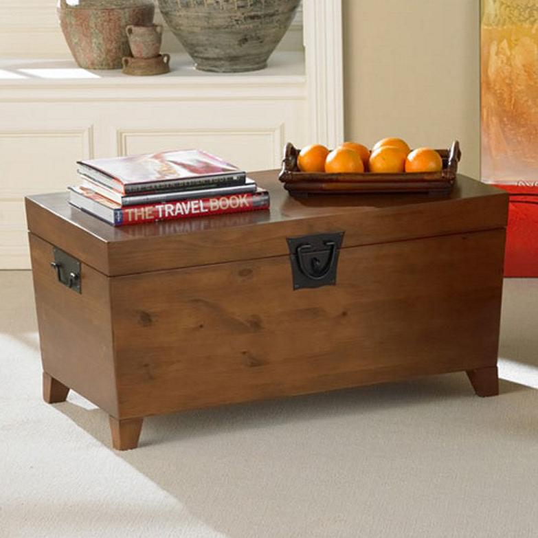 Storage Trunk Coffee Table Bench - Christian's Table