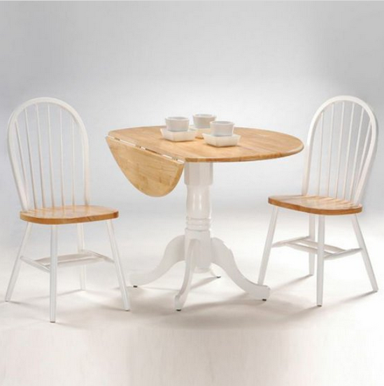 Dual Drop Leaf Dining Table Set - Christian's Table