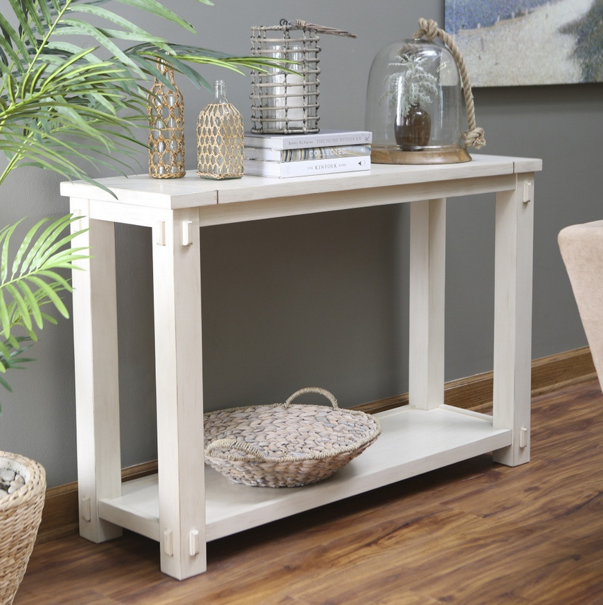 ... Mission Style Console Table   Christianu0027s Table ...