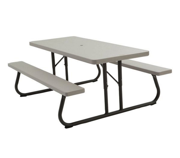 Lifetime Folding Putty Picnic Table - Christian's Table