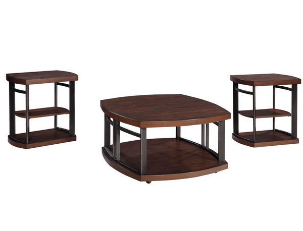 3 Piece Coffee Table Set